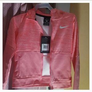 Kids Nike zip up hoodie